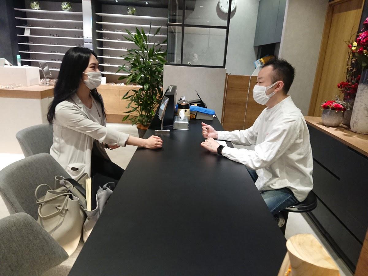 【親切丁寧】千里堂琴似店でオーダーメガネをつくる流れ